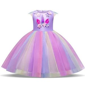 dress princess unicorn disguise girl 155 cm unicorn stuffed animals