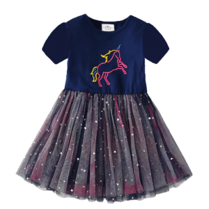 dress tutu unicorn girl glitter 7 8 years price