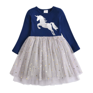 dress unicorn at glitter girl 7 8 years at sell