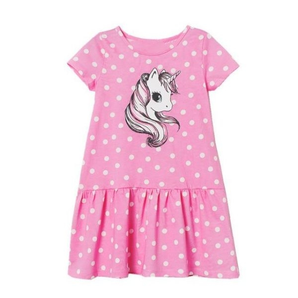 dress unicorn at peas girl 7 years 115 125cm