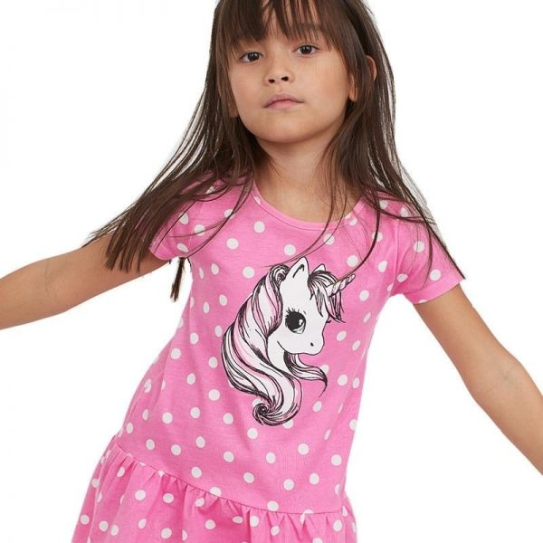 dress unicorn at peas girl 7 years 115 125cm at sell