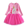dress unicorn cotton for girl 7 8 years at sell
