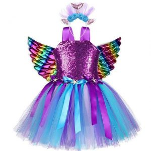 dress unicorn disguise kawaii 9 10 years old 140 150cm buy