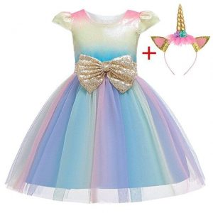 dress unicorn girl princess 10 years 155cm price