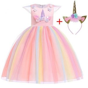 dress unicorn of party girl 10 years 155cm buy