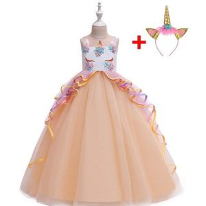dress unicorn of princess orange 14 years old 175cm at sell