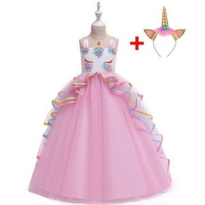 dress unicorn of princess pink 14 years old 175cm not dear