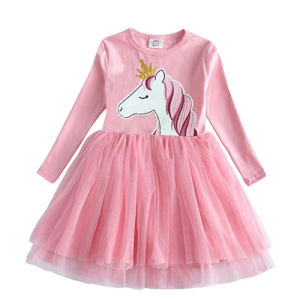 dress unicorn pink at crowned 7 8 years unicorn stuffed animals