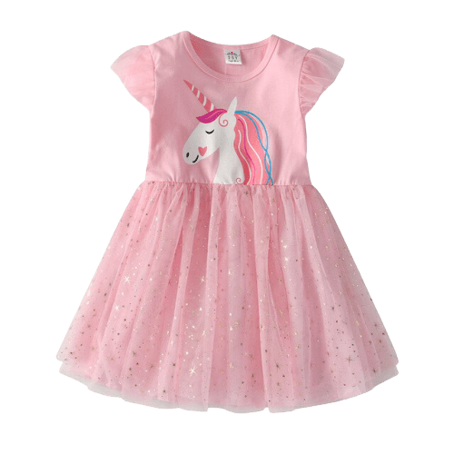 dress unicorn princess girl 7 8 years unicorn stuffed animals