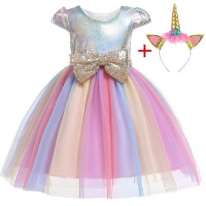 dress unicorn silvery girl 10 years 155cm buy