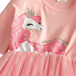 dress unicorn slight pink 8 years 145cm price