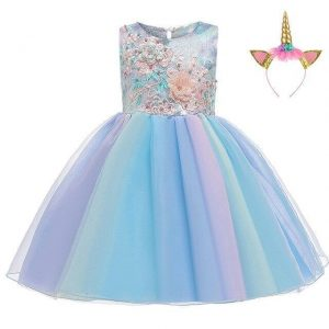 dress unicorn tutu girl 10 years 155cm at sell