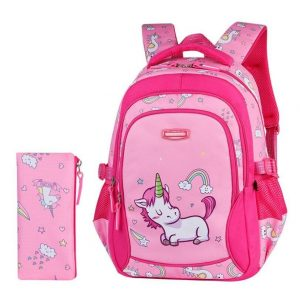 kit pencil case and backpack unicorn unicorn stuffed animals