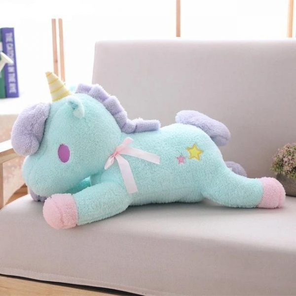 large teddy unicorn 55cm at sell