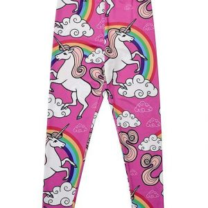 leggings unicorn girl 11 12 years