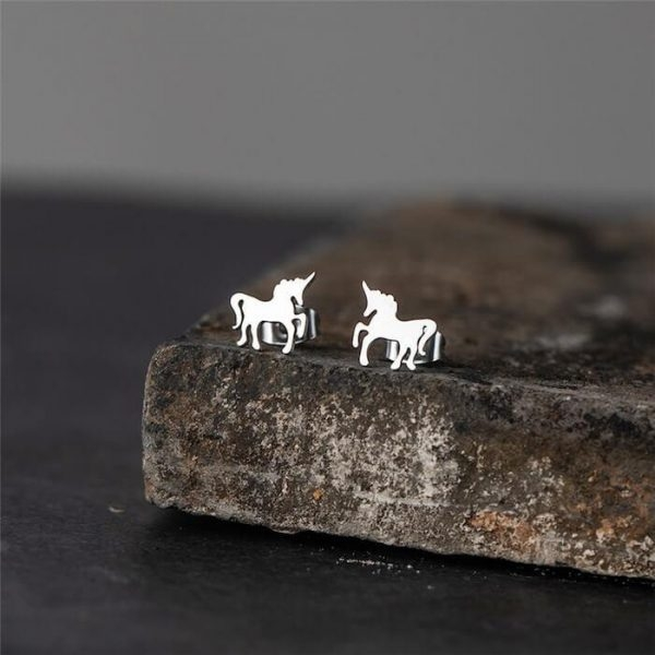 loops ear unicorn silver gold at sell