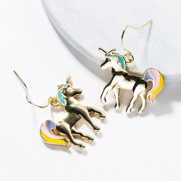 loops ears unicorn gold at sell
