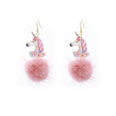 loops ears unicorn pom pom loops ears unicorn