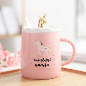 mug unicorn magic pink cup coffee be magic buy