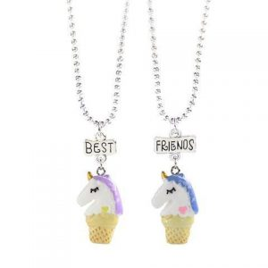 necklace unicorn better friend unicorn stuffed animals