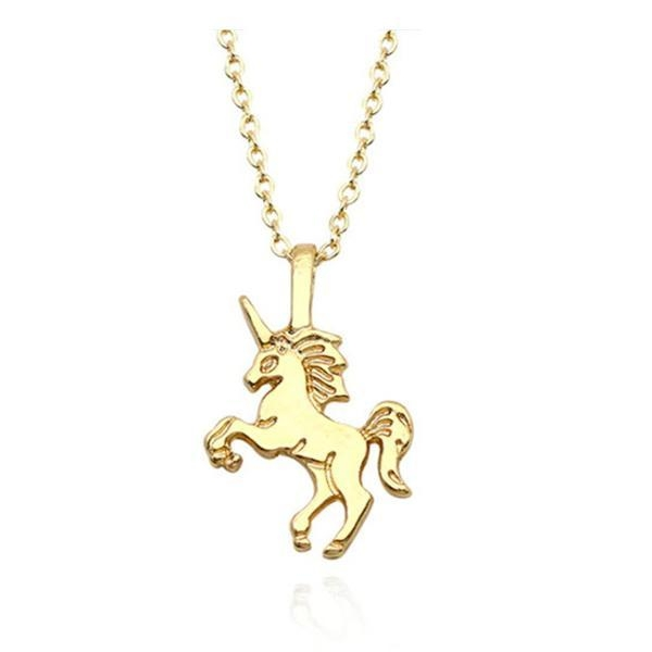 necklace unicorn child money at sell