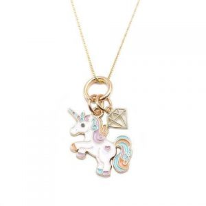 necklace unicorn diamond necklace unicorn