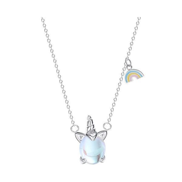 necklace unicorn door happiness