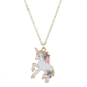 necklace unicorn golden unicorn stuffed animals