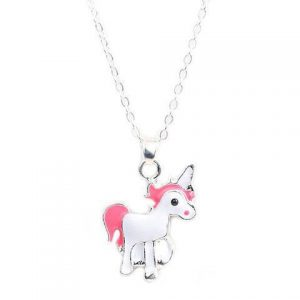 necklace unicorn jewelry silver