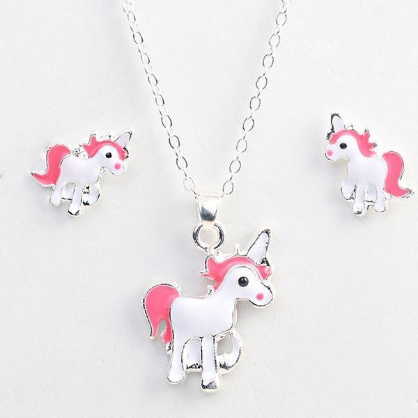 necklace unicorn jewelry silver at sell