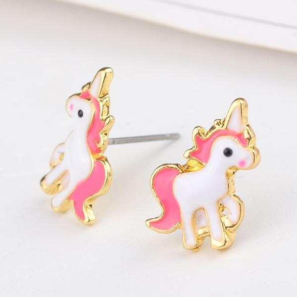 necklace unicorn kawaii golden buy