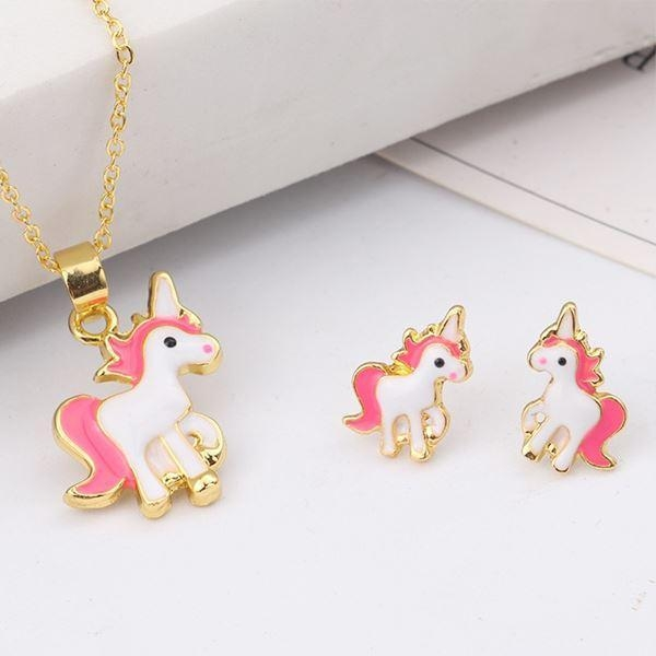 necklace unicorn kawaii golden not dear
