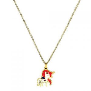necklace unicorn magic girl unicorn stuffed animals