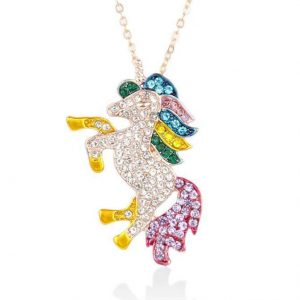 necklace unicorn pendant girl money feet silver objects unicorn at price minis
