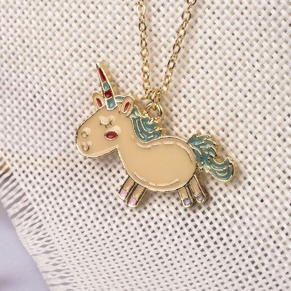 necklace unicorn pendant magic at sell