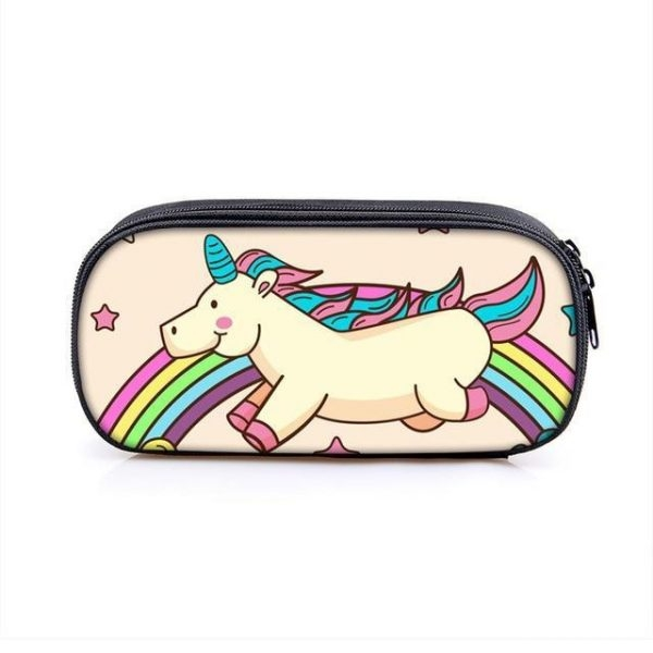 pencil case double unicorn at sell