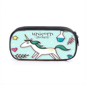pencil case unicorn little girl unicorn stuffed animals