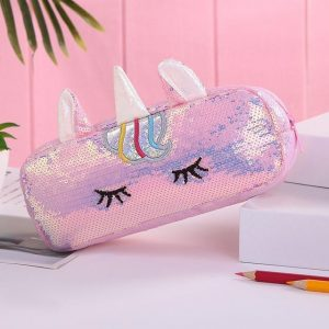 pencil case unicorn pink at sell