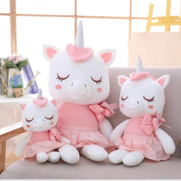 plush doll unicorn 45cm pink price