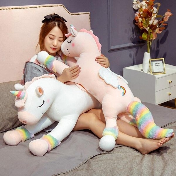 plush unicorn 130cm 130cm not dear