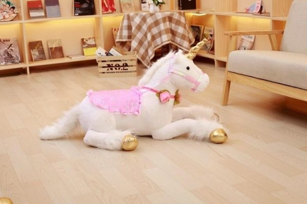 plush unicorn bedroom girl price
