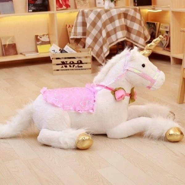 plush unicorn bedroom girl unicorn stuffed animals