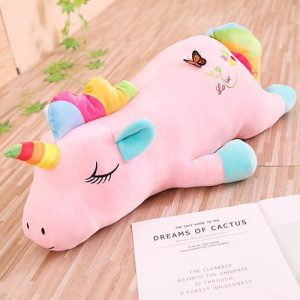 plush unicorn bow in sky 85cm price