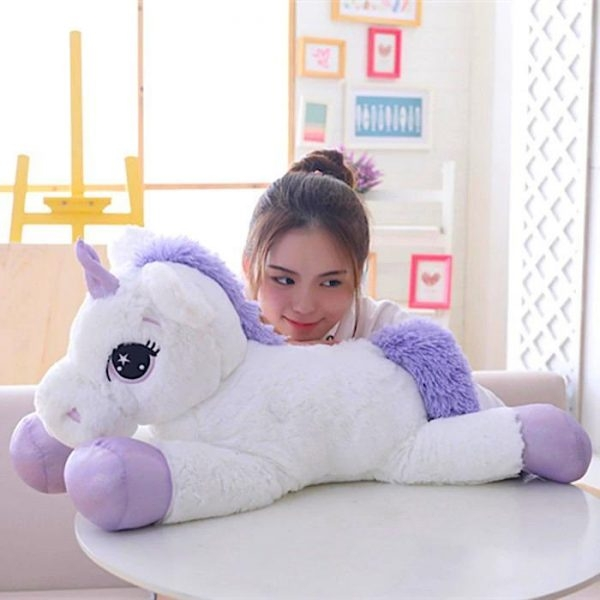 plush unicorn giant 1m 110cm