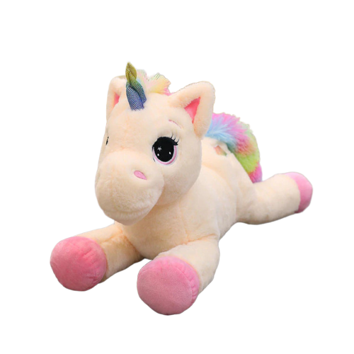 plush unicorn giant girl 80cm at sell