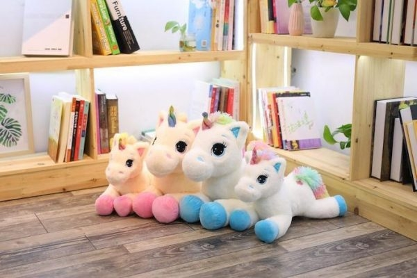 plush unicorn giant girl 80cm price