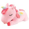 plush unicorn giant pink 80cm gifts unicorn