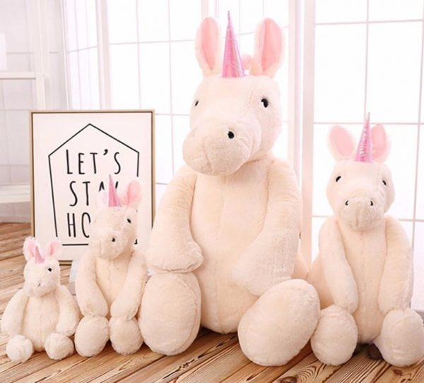 plush unicorn girl 65cm buy