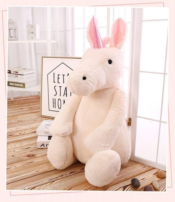 plush unicorn girl 65cm not dear
