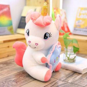 plush unicorn heart 50cm not dear